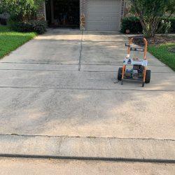 Garden mulch trimmed trees and grass1